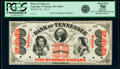 Obsoletes By State:Tennessee, Nashville, TN- Bank of Tennessee $500 18__ G506a S-C N-B.TN3-500-2Pf Proof PCGS Apparent About New 50.. ...
