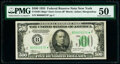 Small Size:Federal Reserve Notes, Low Serial Number 579 Fr. 2201-B* $500 1934 Federal Reserve Star Note. PMG About Uncirculated 50.. ...