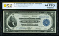 Fr. 772 $2 1918 Federal Reserve Bank Note PCGS Banknote Choice Unc 64 PPQ