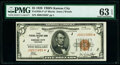 Small Size:Federal Reserve Bank Notes, Fr. 1850-J* $5 1929 Federal Reserve Bank Star Note. PMG Choice Uncirculated 63 EPQ.. ...