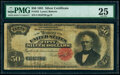 Large Size:Silver Certificates, Fr. 333 $50 1891 Silver Certificate PMG Very Fine 25.. ...