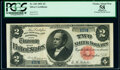 Large Size:Silver Certificates, Fr. 245 $2 1891 Silver Certificate PCGS Apparent Choice About New 58.. ...