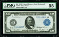 Fr. 1043 $50 1914 Federal Reserve Note PMG About Uncirculated 55