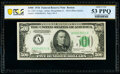 Fr. 2201-A $500 1934 Federal Reserve Note. PCGS Banknote About Unc 53 PPQ