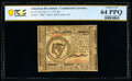 Colonial Notes:Continental Congress Issues, Continental Currency February 17, 1776 $8 PCGS Banknote Choice Unc 64 PPQ.. ...