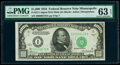 Fr. 2211-I $1,000 1934 Mule Federal Reserve Note. PMG Choice Uncirculated 63 EPQ