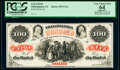 Obsoletes By State:Pennsylvania, Philadelphia, PA- Union Bank $100 18__ as G14a as Hoober 305-620 PCGS Apparent Very Choice New 64.. ...