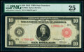 Large Size:Federal Reserve Notes, Fr. 903b $10 1914 Red Seal Federal Reserve Note PMG Very Fine 25.. ...