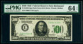 Fr. 2200-E $500 1928 Federal Reserve Note. PMG Choice Uncirculated 64 EPQ