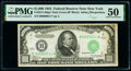 Small Size:Federal Reserve Notes, Fr. 2211-B* $1,000 1934 Federal Reserve Star Note. PMG About Uncirculated 50.. ...