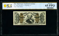 Fractional Currency:Third Issue, Fr. 1338 50¢ Third Issue Spinner PCGS Banknote Gem Unc 65 PPQ.. ...