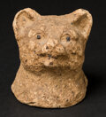 """Miscellaneous:Other, 3"""" x 3"""" Cat Bust. ..."""