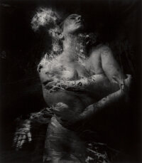 Connie Imboden (American, 1953) Untitled (Multiple Exposure, Female Nude), 1990 Gelatin silver print