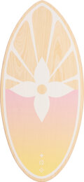 """Luxury Accessories:Home, Louis Vuitton Pink & Yellow By The Pool Skimboard . Condition: 1. 42"""" Height x 19.5"""" Width. ..."""