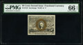 Fractional Currency:Second Issue, Fr. 1318 50¢ Second Issue PMG Gem Uncirculated 66 EPQ.. ...