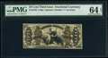 Fractional Currency:Third Issue, Fr. 1349 50¢ Third Issue Justice PMG Choice Uncirculated 64 EPQ.. ...