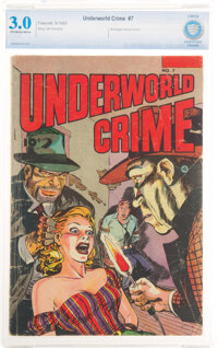 Underworld Crime #7 (Fawcett Publications, 1953) CBCS GD/VG 3.0 Off-white to white pages