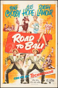 """Movie Posters:Comedy, Road to Bali (Paramount, 1952). Folded, Fine/Very Fine. One Sheet (27"""" X 41""""). Comedy.. ..."""