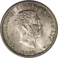 Coins of Hawaii, 1883 25C Hawaii Quarter MS66 PCGS....