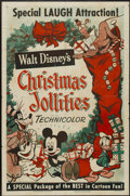 "Movie Posters:Animated, Christmas Jollities (RKO, R-1953). One Sheet (27"" X 41"").Animated...."