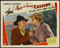 "Movie Posters:Western, Hop-a-long Cassidy (Paramount, 1935). Lobby Card (11"" X 14""). Western...."