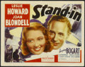 "Movie Posters:Comedy, Stand-In (United Artists, 1937). Lobby Card (11"" X 14""). Comedy...."