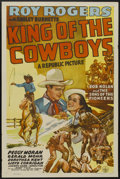 "Movie Posters:Western, King of the Cowboys (Republic, 1943). One Sheet (27"" X 41""). Western...."