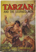 Books:First Editions, Edgar Rice Burroughs. Tarzan and the Leopard Men....