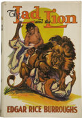 Books:First Editions, Edgar Rice Burroughs. The Lad and the Lion....