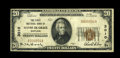 National Bank Notes:Maryland, Havre de Grace, MD - $20 1929 Ty. 1 The First NB Ch. # 3010. ...