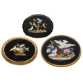Estate Jewelry:Brooches - Pins, Victorian Micromosaic, Gold Brooches. ... (Total: 3 Items)