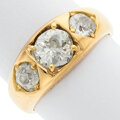 Estate Jewelry:Rings, Diamond, Gold Ring, English, early 20th century. ...