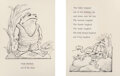 Works on Paper, Arnold Lobel (American, 1933-1987). Frog and Toad coloring book illustration, 1981. Ink and collage on...