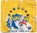 Memorabilia:Trading Cards, Pokémon French First Edition Base Set Sealed Booster Box (Wizards of the Coast, 1999)....