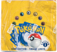Pokémon French First Edition Base Set Sealed Booster Box (Wizards of the Coast, 1999)