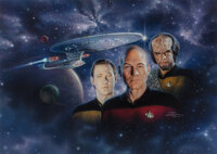 Keith Birdsong (American, 20th Century) Star Trek: The Next Generation: A Game of Trivia Exploration and Discov