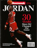 Basketball Collectibles:Publications, 2014 Michael Jordan Newsweek Special Edition. ...