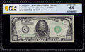 Fr. 2212-G* $1,000 1934A Federal Reserve Star Note. PCGS Banknote Choice Unc 64