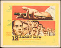 """Movie Posters:Drama, 12 Angry Men (United Artists, 1957). Fine+. Title Lobby Card (11"""" X 14""""). Drama.. ..."""