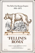 Movie Posters:Foreign, Fellini's Roma (United Artists, 1972). Rolled, Very Fine-. Poster (40X60). Foreign.. ...