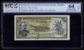 Danish West Indies National Bank of the Danish West Indies 5 Francs 1905 Pick 17s Specimen PCGS Banknote Choice UNC 64 O...
