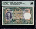 World Currency, Portugal Banco de Portugal 1000 Escudos 18.11.1932 Pick 148 PMG Extremely Fine 40.. ...