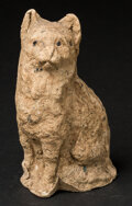 Miscellaneous:Other, Unusually Produced Cat Figurine. ...
