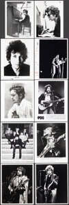 """Movie Posters:Rock and Roll, Bob Dylan Lot (1967-1988). Very Fine-. Photos (18), Color Photos (2), British Front of House Color Photos (2) (approx. 8"""" X ... (Total: 22 Items)"""
