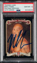 Boxing Cards:General, Signed 2012 Upper Deck Goodwin Champions Mike Tyson #102 PSA/DNA Auto Grade Gem Mint 10....