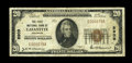 National Bank Notes:Colorado, Lafayette, CO - $20 1929 Ty. 1 The First NB Ch. # 8909. ...