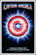 """Movie Posters:Action, Captain America (Columbia/Tristar, 1991). Rolled, Fine/Very Fine. One Sheet (27"""" X 41"""") SS Advance. Action.. ..."""