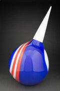Glass, Nancy Callan (American, b. 1964). Captain American from the Stinger Series, 2003. Glass. 32 x 15 x 15 inches (81.3 x 38....