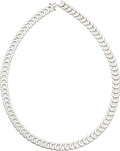 Estate Jewelry:Necklaces, Cartier Diamond, White Gold Necklace, French. ...