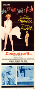 Movie Posters:Comedy, The Seven Year Itch (20th Century Fox, 1955). Folded, Fine...